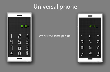 The Universal Phone For The Blind And Sighted by Seunghan Song