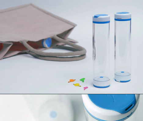 Source Water Bottle And Dispenser System by Oliver Craig