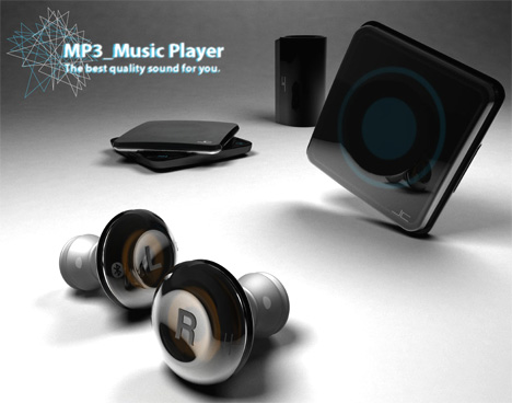MP3 Player Concept by Rho Jung Chan
