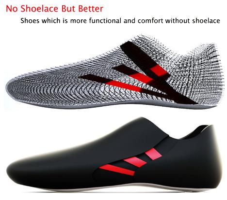 No Shoelace Shoe Design by Seon-Keun Park & Jin-Sun Park