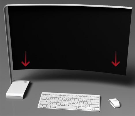 3D Hologram Desktop Concept by Mac Funamizu