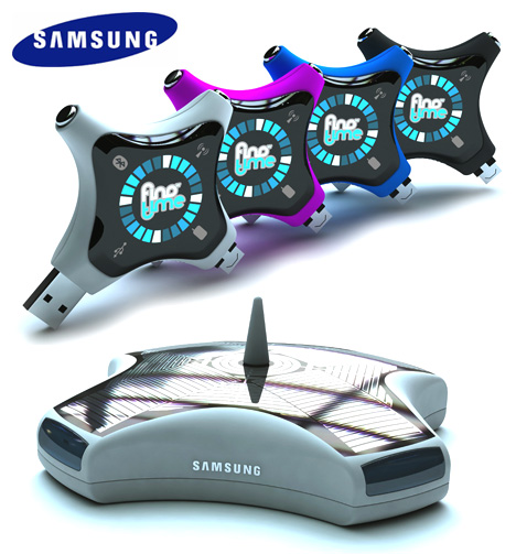 Samsung FINDmyTIME Device by Daniele Gualeni