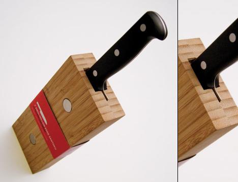 Aaron Root's Single Block Knives for JA Henckels