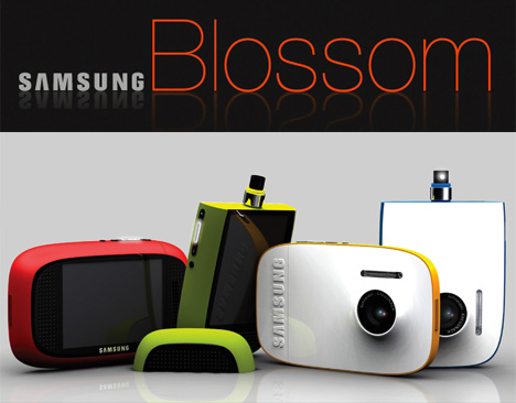 Samsung Blossom DPS Camera Concept by Hyun-mook Kang