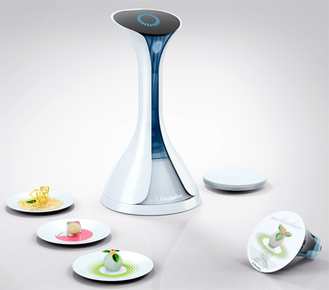 Electrolux Moléculaire 3D Molecular Food Printer by Nico Kläber