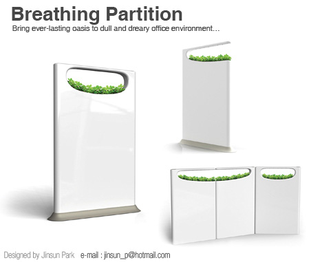 Breathing Partition – Office Partitions by Jinsun Park & Seonkeun Park