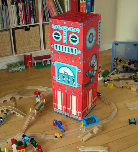Robox the Robot Blocks by Guus Oosterbaan