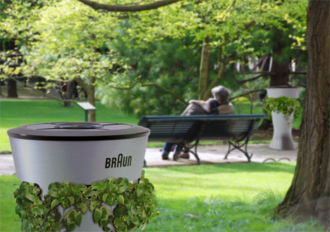 Braun Envi – Urban Dustbin Composter by Julien Bergignat, Cecilia Jia & Johnny Chen