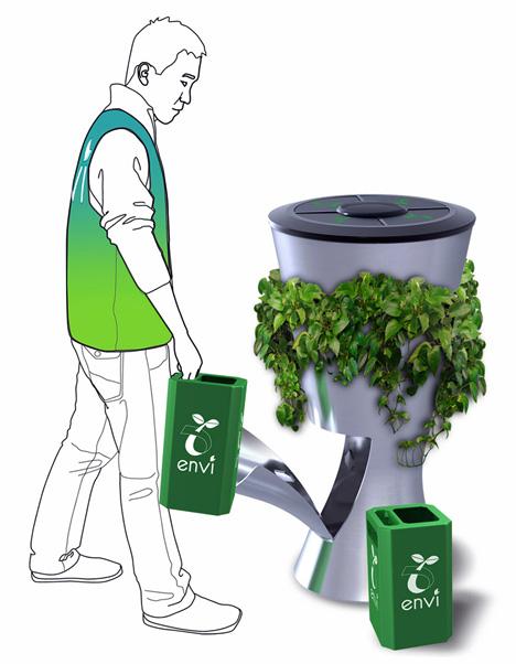 Compost dustbin yanko design - How to decorate a dustbin ...