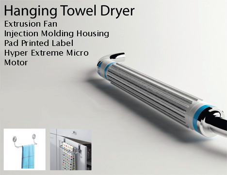 Hanging Towel Dryer by Seung Jun Jeong