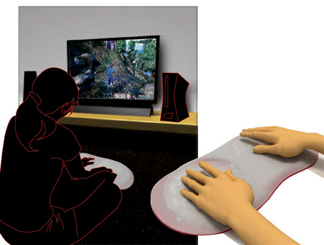 A Feel Good Thing Gaming Device by Yee Von