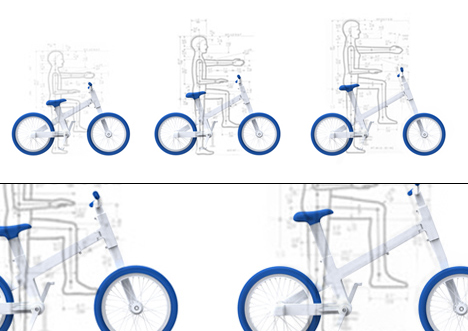 Kilobike expandable bicycle by Kilo Design