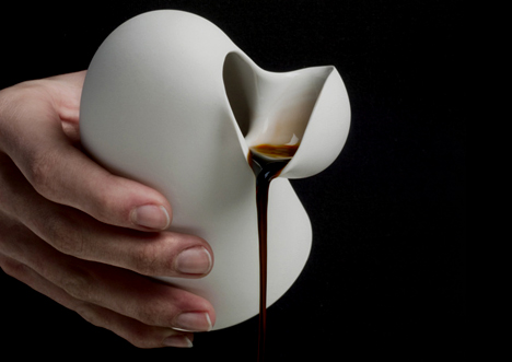 Porcelain Tableware by Aldo Bakker