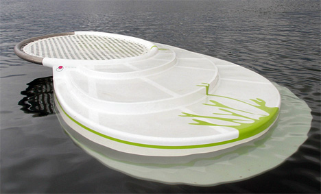 Zilborrerstea Deck For Lakes And Sea by Ithaka Design