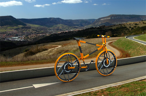 Eco // 07 – Compactable Urban Bicycle by Victor Aleman