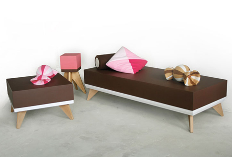 Sweet Seating Collection by Sander van der Haar 4