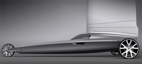 BMW Blue Dynamics Land Yacht by Stefan Radev