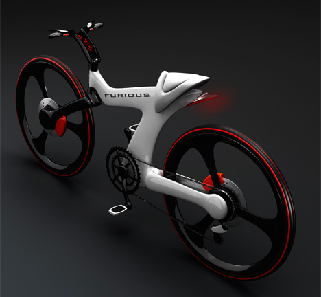 Furious Sports Bicycle Concept by Nenad Kostadinov