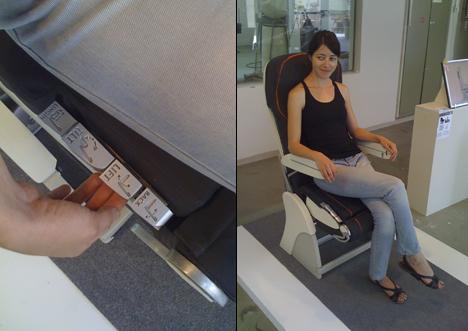 Dynamic Economy Airplane Seat by Netta Shalgi