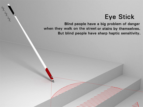 Eye Stick For The Blind by Wonjune Song