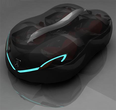 Peugeot Globule Concept Car by Ahmad Filiz