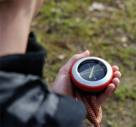 EMIL Experience Outdoors GPS Based Game Console by Andrea Schoellgen