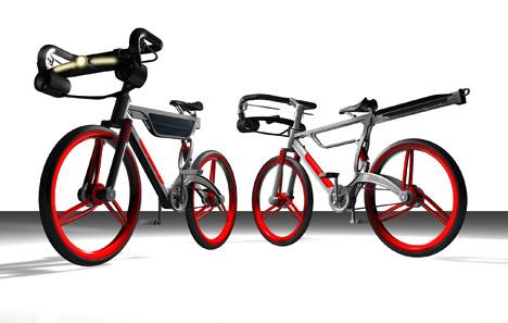 Wind-Solar Energy Bike by Chen Chun Tung