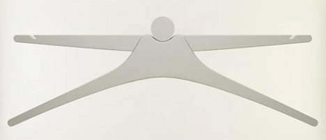 Aufhanger – Clothes Hanger Re-Design by Milica Balubdzic