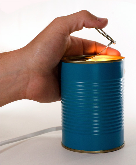 Tin Can Lights by Adi Zaffran & David Keller