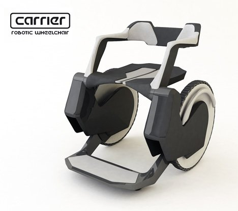 CARRIER Robotic Wheelchair by Julia Kaisinger, Mayrhofer Mathias, Iranmanesh Niki, Demiric Bilge & Benesch Xiulian