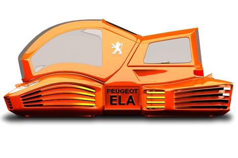 Peugeot ELA Car Concept by Mohammad Ghezel