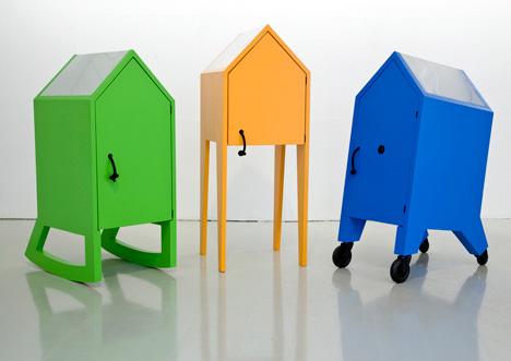 WURK It Hûske furniture set by Jurjen van Hulzen