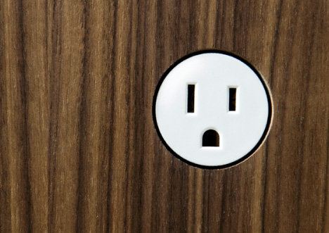 Wall Plug Concept by Omer Arbel