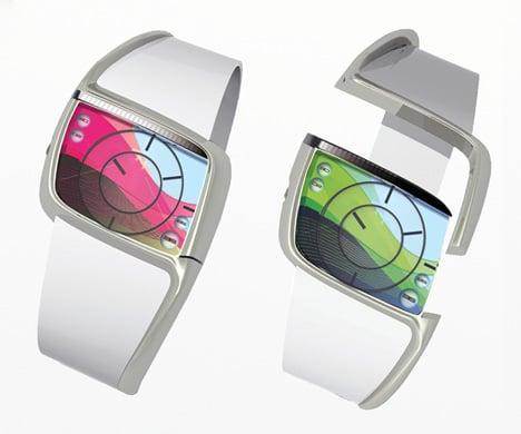 StressWatch Watch Concept by Gerda Hopfgartner & Michael Mathis