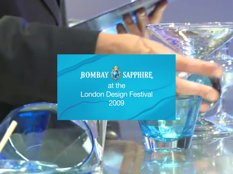 Bombay Sapphire at London Design Festival 2009