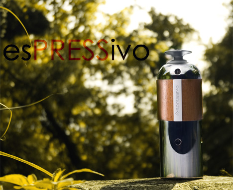 esPRESSivo Portable Espresso Coffee Maker by Shao-Lun Chao