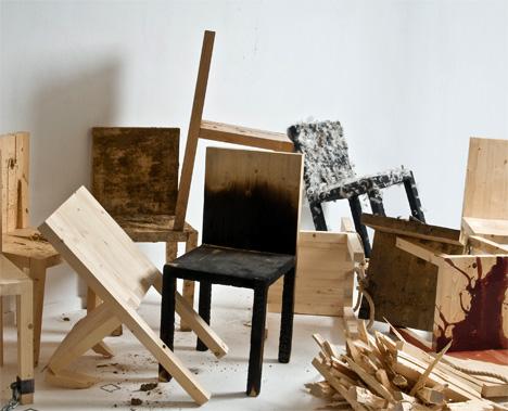 Modus Operandi Chairs by Matylda Krzykowski