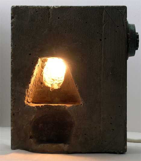Little Night Lamp For Sderot by Michael Tsinzovsky