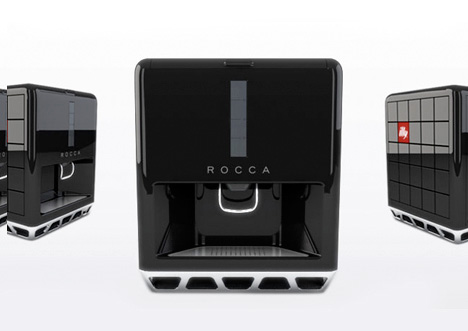 Cafe Rocca espresso ice machine by Chapps Malina in collaboration with Fahrenheit 212