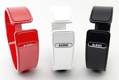 Alessi Invisible Shot Laser Watch by Andy Kurovets