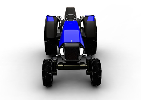 COSMIC Trac future tractor by Vipin George