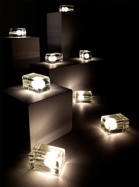 The Block Lamp by Harri Koskinen