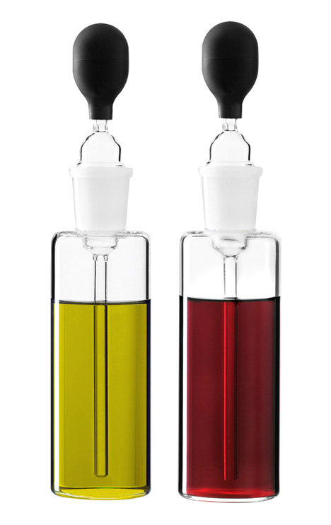 Pipette Bottles Vinegar And Oil Table Set by Camilla Kropp