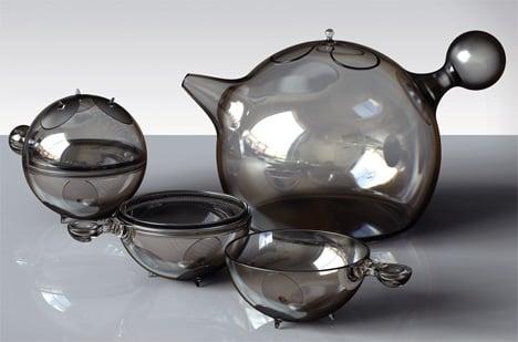 Dione Tea Set by Vuk Dragovic