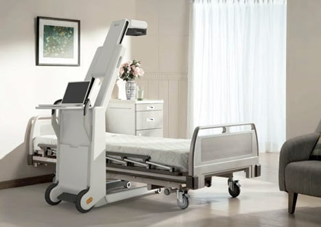 ray portable x ray system by cavallius design