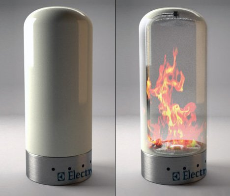 Electrolux Fireplace by Camillo Vanacore