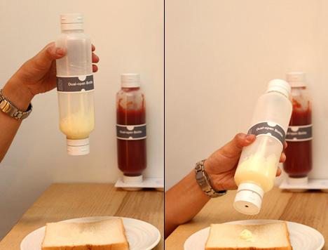 Dual-open Bottle by Kai-yu Lei