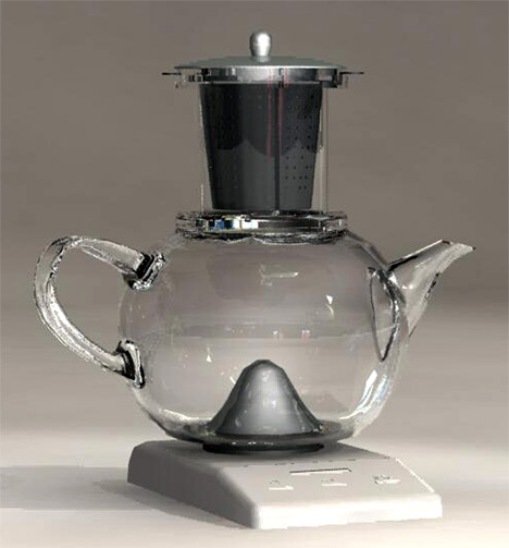 Fall Tea Kettle by Yuki Hirayama