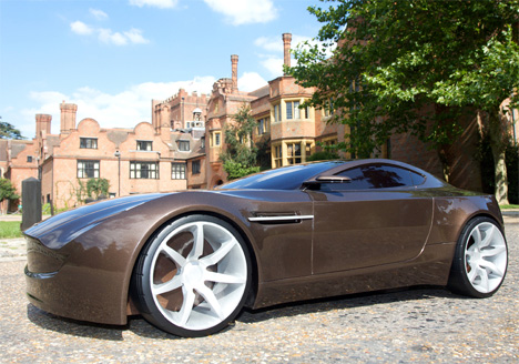 Aston Martin Volare Concept Car by James Trim