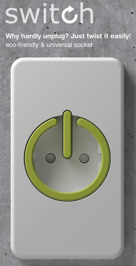 Power Socket SWITCH by Yong-jin Kim